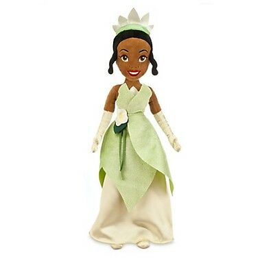 """Disney Authentic Princess & the Frog Tiana BIG Plush Toy Doll 21"""" Girls Gift New"""