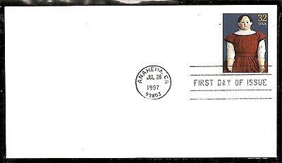 US SC # 3151k American Dolls- Doll By Ludwig Greiner-  FDC.Ready For Cachet.