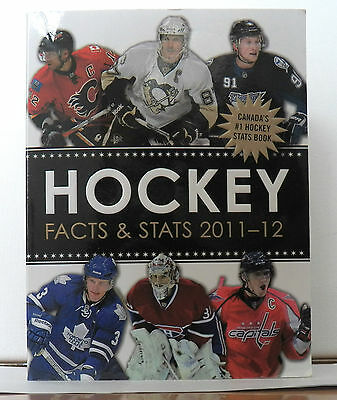 EXCELLENT BOOK HOCKEY FACTS & STATS 2011-12  COLLINS BY AUTHOR ANDREW PODNIEKS