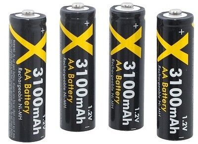 ULTRA HI 4 AA RECHARGEABLE BATTERY FOR OLYMPUS SP-610UZ SP-620UZ