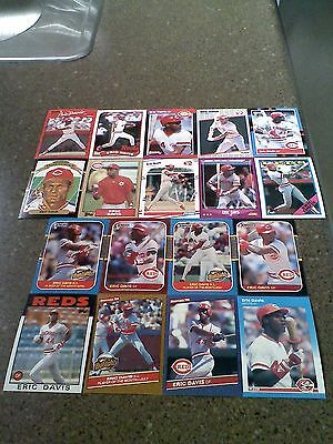 *****Eric Davis*****  Lot of 50 cards  ALL DIFFERENT