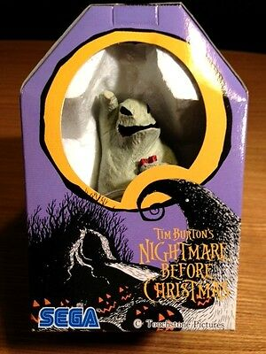 Nightmare Before Christmas Oogie Boogie Polystone Figure w/Coffin Box SEGA Prize