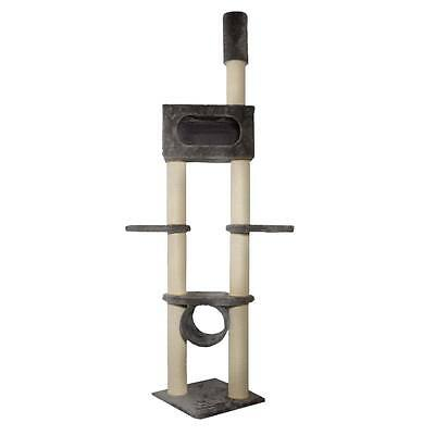Kattens No. 1 - Scratching Tree Gigant - Tension Pole - Grey - Luxury Cat Tree
