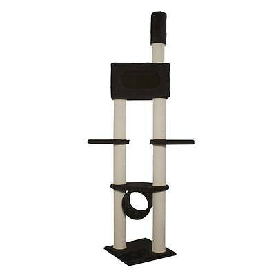 Kattens No. 1 - Scratching Tree Gigant - Tension Pole - Black - Luxury Cat Tree