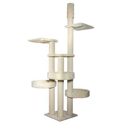 Kattens No. 1 - Scratching Tree Jumbo - Tension Pole - Cream - Luxury Cat Bed