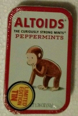Curious George Altoids Limited Edition Still Sealed