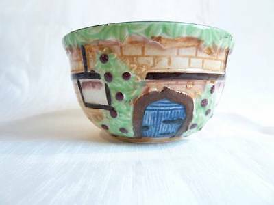 VINTAGE COTTAGE WARE LITTLE SUGAR BOWL by MARUTOMO WARE, JAPAN