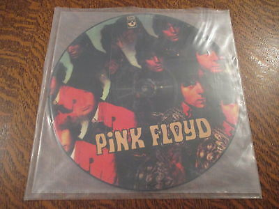 RARE 33 tours picture disc pink floyd the piper at the gates of dawn