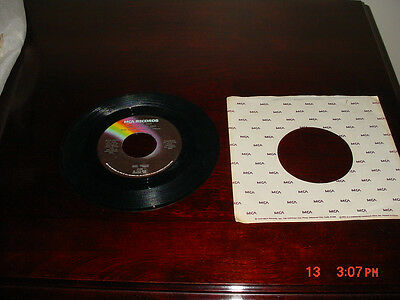 """MCA RECORDS MEL TILLIS """"IT'S JUST NOT THAT EASY TO SAY""""/ """"HEART HEALER"""" 45 RPM"""