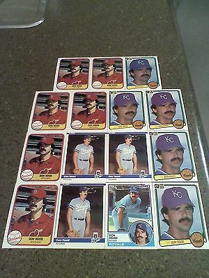 *****Don Hood*****   Lot of 54 cards  8 DIFFERENT