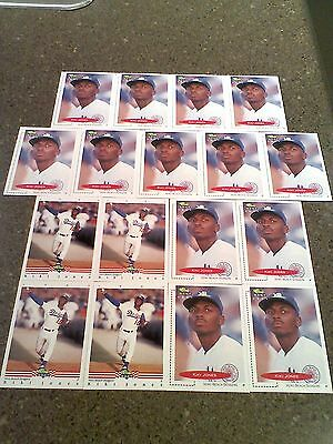 """*****Keith """"Kiki"""" Jones*****  Lot of 54 cards  5 DIFFERENT"""