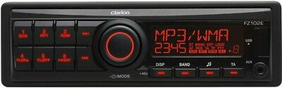 Clarion FZ102E Mechless Radio / Direct iPod Control