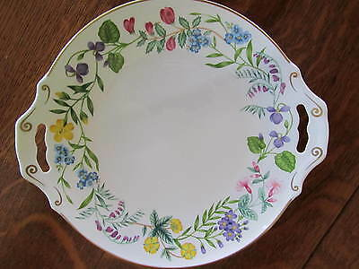 Vintage Platter with Handles ROYAL WORCESTER ARCADIA Plate....PERFECT