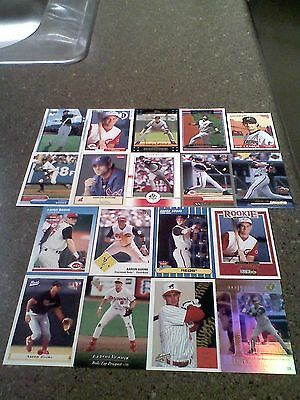 *****Aaron Boone*****  Lot of 35 cards  ALL DIFFERENT