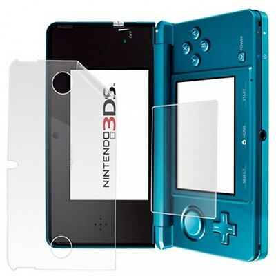 2 Pack Screen Protectors Protect Cover Guard Film For Nintendo 3DS