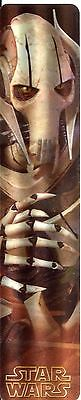 Cardsinc Lenticular Effect Star Wars Bookmark General Grievous