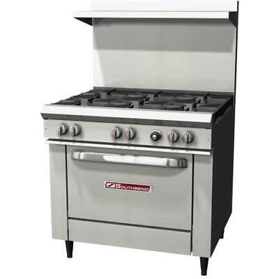 "Southbend - S36D - 36"" Commercial Restaurant Range Oven Stove"