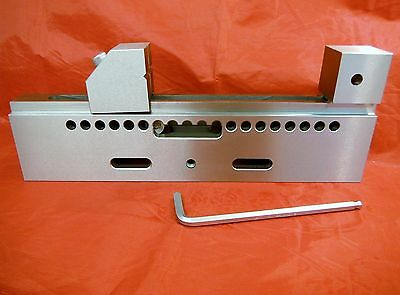 """8"""" Precision Stainless Wire Cut Vise For Edm, Grinding &  Milling M2021052 New!"""