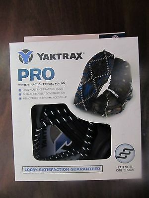 Yaktrax Pro Shoe Traction- LARGE #08613   NEW in Box