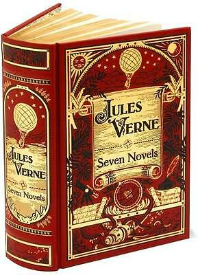 WORKS OF JULES VERNE Leather AROUND THE WORLD, JOURNEY TO THE CENTER, MORE!!