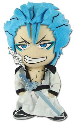 "Sale!  Bleach GE-8978 ~ 9"" Grimmjow Official Licensed Plush Toy Doll Stuffed!"