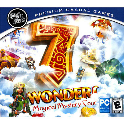 7 Wonders : Magical Mystery Tour   (PC GAME) **NEW SEALED**