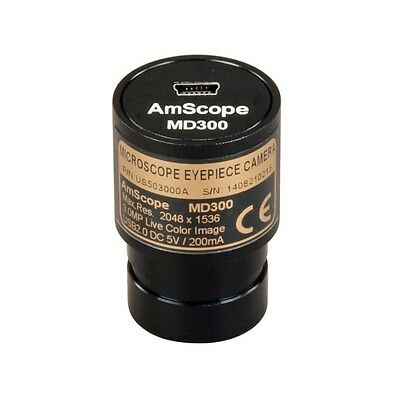 AmScope 3MP Digital USB Microscope Camera with Software