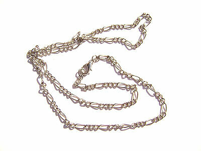"""Chain Necklace Handmade Antiqued Silver Steel ALL SIZES 16/"""" to 50/"""" 5 or 1 Qty"""