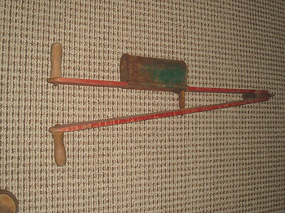 vtg barn find acme corn seed potato planter farm tool traverse city mi.