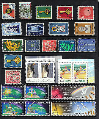 EUROPA Thematic Stamp Collection Mint & Used Ref: TH101