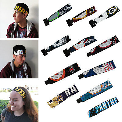 New NFL All Team Pick Your Team Fanband Jersey Headband Head-Band Fan Gear