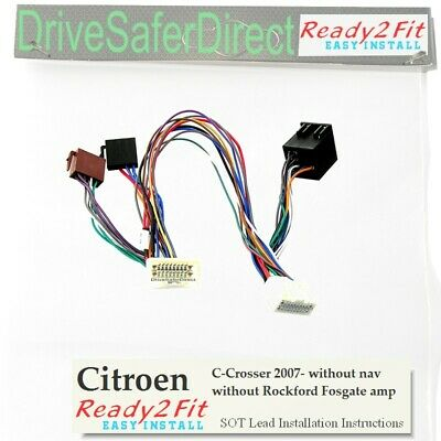 SOT-8404-01 ISO Cable for Parrot CK3100,CK3000//Vauxhall Astra,Agila,Corsa,Combo