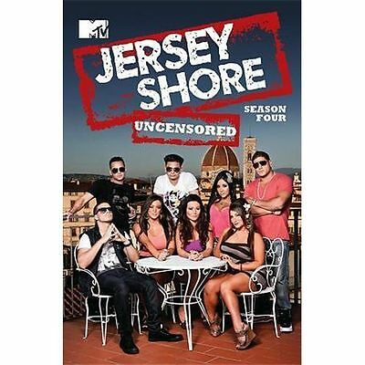 Jersey Shore: Season Four Uncensored (DVD, 2011, 4-Disc Set)