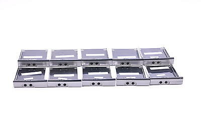 Lot of 10 Dell Latitude D520 D530 Laptop Hard Drive Caddy Trays SATA TF049