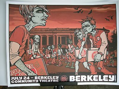 2007 Ryan Adams Cardinals Berkeley Community Theatre Concert Poster July 24