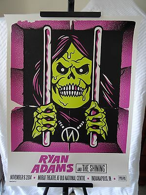 2014 Ryan Adams Indianapolis Murat Theatre Concert Poster #12/125 November 6