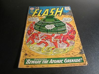 Rare Early Silver Age Flash #122 1St Appearance And Origin Of The Top!!!