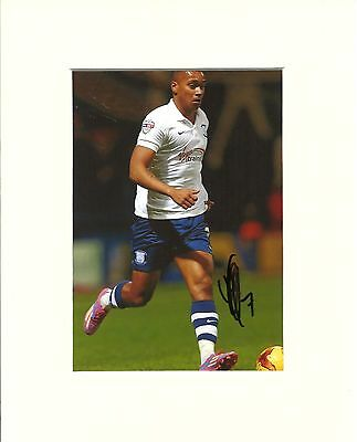 A 10 x 8 inch mount, personally signed by Chris Humphrey of Preston North End.