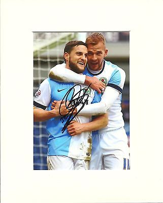 A 10 x 8 inch mount, personally signed by Craig Conway at Blackburn Rovers.