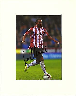 A 10 x 8 inch mount, personally signed by Lee Williamson of Sheffield United.