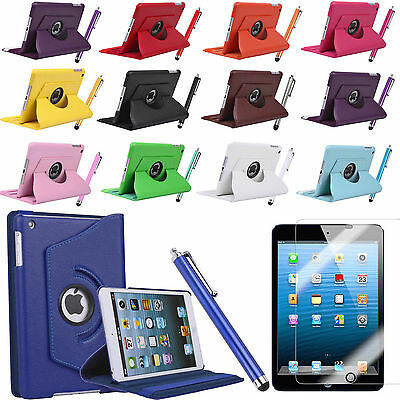 360 Rotating PU Leather Ultra Smart Case Cover Stand for iPad Air 1st Gen