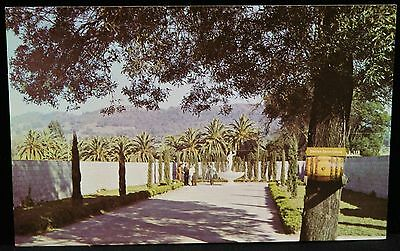 Vintage Tours of The Italian Swiss Colony Winery, Asti, California postcard