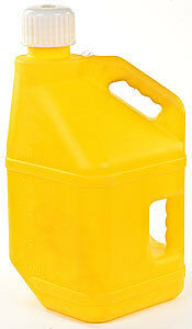 JEGS Performance Products 80213 Square 5-Gallon Jug Yellow
