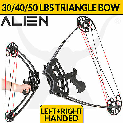ALIEN 30-50lbs Triangle Compound Bow by Apex Hunting Left & Right Handed Archery