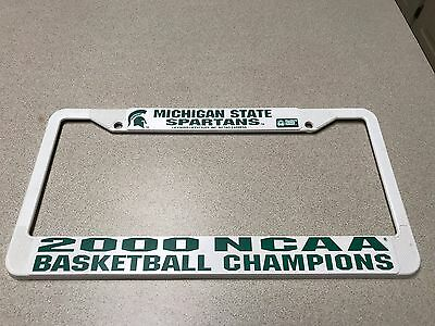 MICHIGAN STATE SPARTANS NCAA Chrome License Plate Frame FREE US ...