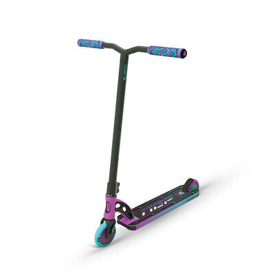 New 2017 Madd Gear Mgp Vx7 Pro Complete Kids Scooter Blue/green - Free Shipping