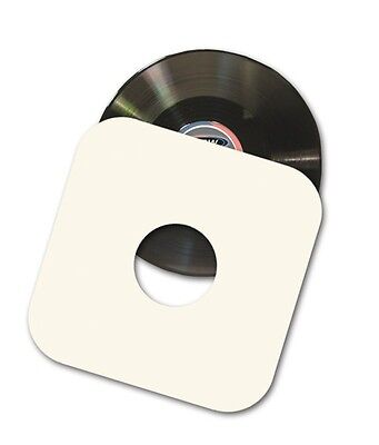 """(10) BCW 12"""" Paper Record Album Inner Sleeves 33 1/3 RPM w/ Hole - Virgin Paper"""