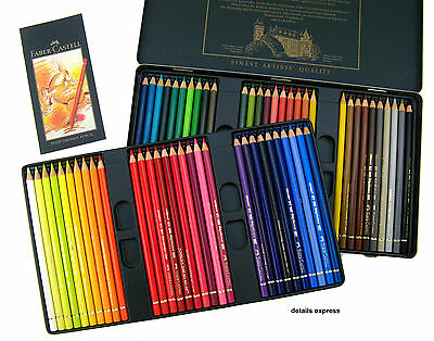 Faber Castell Polychromos Artists Pencil tin set of 60  - Best Quality