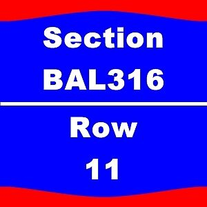 1-6 TIX Journey 7/11 Rogers Arena Sect-317