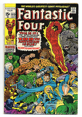 Fantastic Four Vol 1 No 100 Jul 1970 (FN)Marvel Comics, Bronze Age (1970 - 1979)